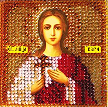Вышивка бисером иконы святая вера